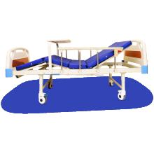 HOSPITAL BED CRANK WITH MATTRESS MANUAL
