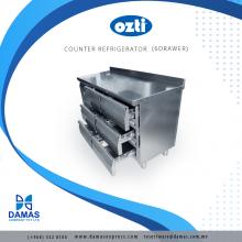 OZTI Counter 6 Drawer Refrigerator