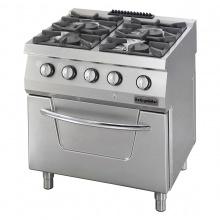 Gas Range 4 Burner with Oven (OFOG 8065 P)