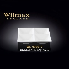 Wilmax Divided Square Dish
