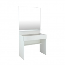 BLANC Dressing table with Mirror - White
