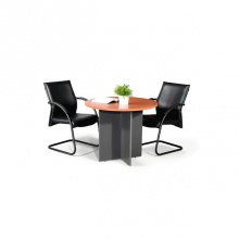 Round Conference Table 3ft - Cherry