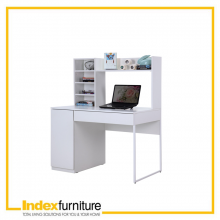 CLEVERO/P WORKING TABLE ML 100 CM. - WHITE