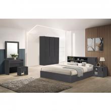 Bedroom Set (Double) - Cool Grey