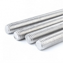 Stainless Steel Threaded Rod 1/4'' x  6'
