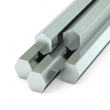 Stainless Steel Hex Rod 5/8'' x 19Ft