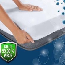 Duroflex Duro Safe Mattress Protector Single Size - Grey