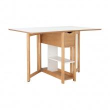 PLIER EXTENSION TABLE 120X80 CM  - WT/NT