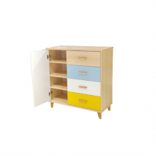 STUDY TABLE D-35 DRAWER CABINET