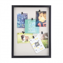 TIPO PHOTO DISPLAY WITH 6 CLIPS BK