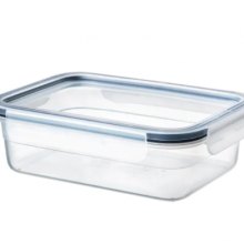IKEA 365+ FOOD CONTAINER WITH LID, RECTANGULAR GLASS/PLASTIC