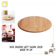 SNUDDA LAZY SUSAN, SOLID WOOD 39CM