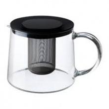 RIKLIG TEAPOT, GLASS 1.5L