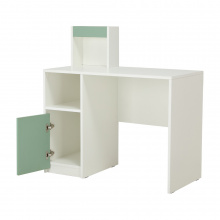 ANISTA WORKING TABLE 100CM WHITE/GREEN