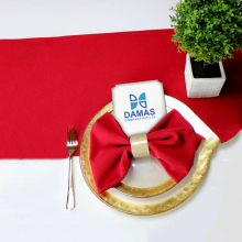 Cloth Serviette Plain Red